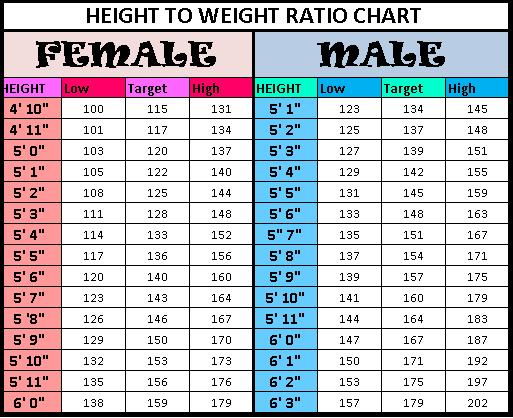 age height weight chart for men: Height weight chart women hatch urbanskript co